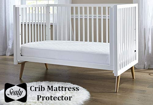 sealy stain protection crib mattress pad