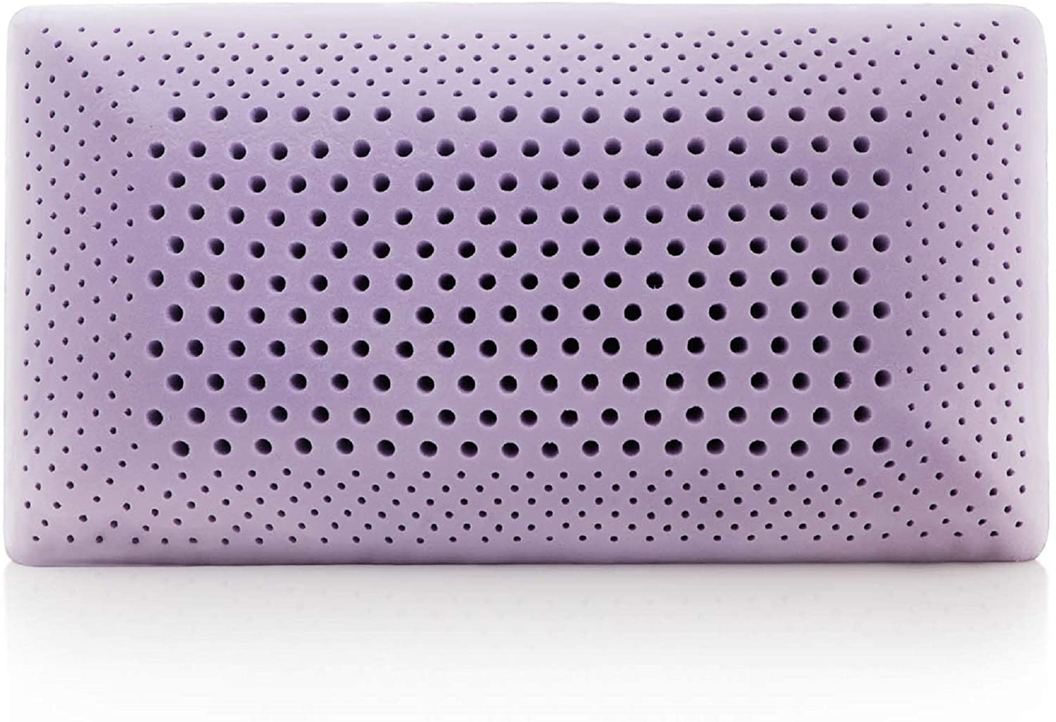 review over the zoned lavender pillow by malouf