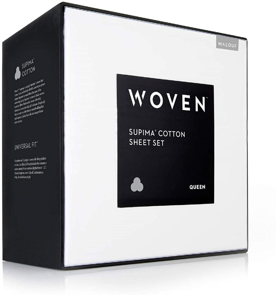 cotton supima sheets by woven review