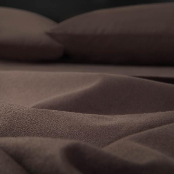 dark brown warm flannel sheets review