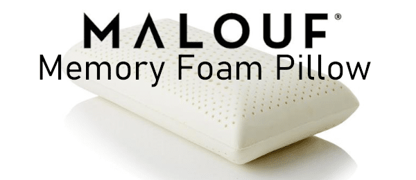 malouf zoned dough pillow review