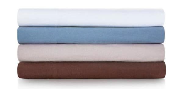 100% cotton flannel sheets