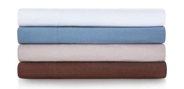 100% cotton flannel sheets