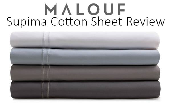 review over the supima cotton sheets by malouf