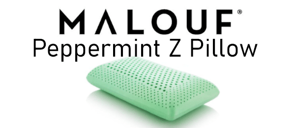 malouf peppermint zoned activedough peppermint pillow review