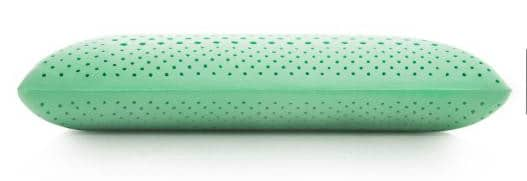 malouf peppermint zoned comfort pillow