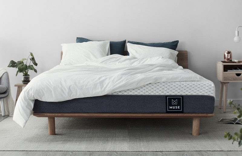 The Muse Mattress Is Memory Foam Mattress That Combines Two Layers Of  Memory Foam And A Dense, Breathable Layer Of Base Foam To Make A Nice Thick  12 Inch ...