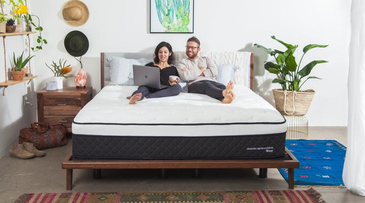 alexander nest bedding hybrid mattress materiala