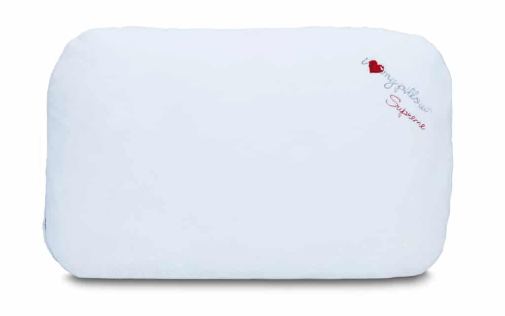comfort of the memory down pillow by i love my pillow