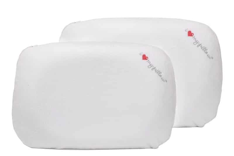 i love my pillow contour back sleepers