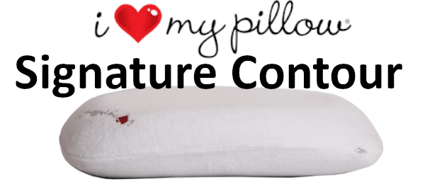 signature contour i heart my pillow review