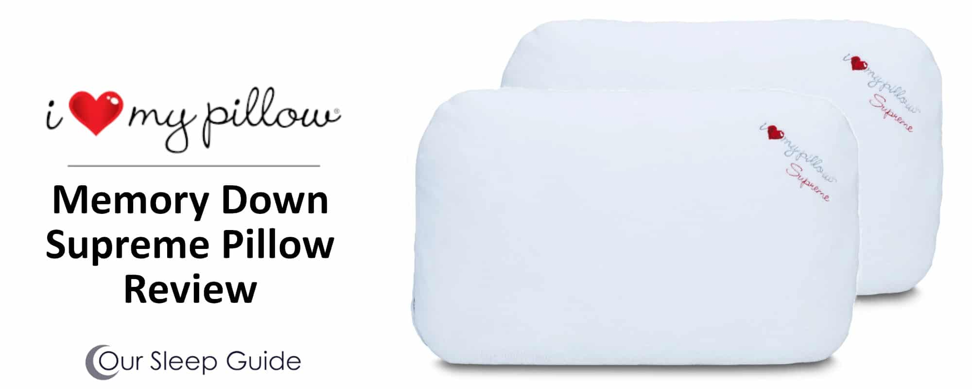 down memory foam hybrid pillow by i love my pillow review