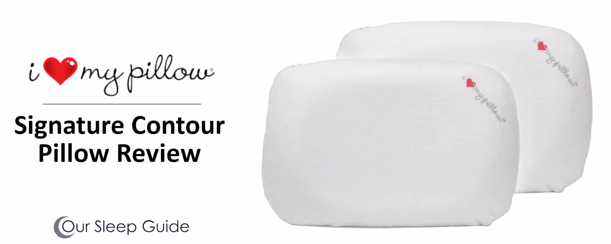 signature contour pillow by i love my pillow our thoughts