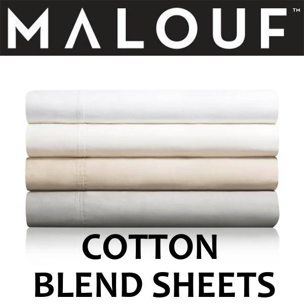 Malouf Cotton Blend Sheets