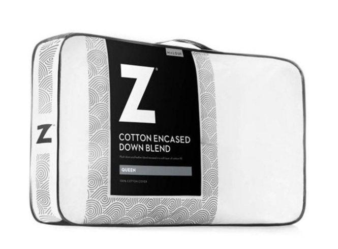 Malouf Down Blend Pillow with Cotton Encasement