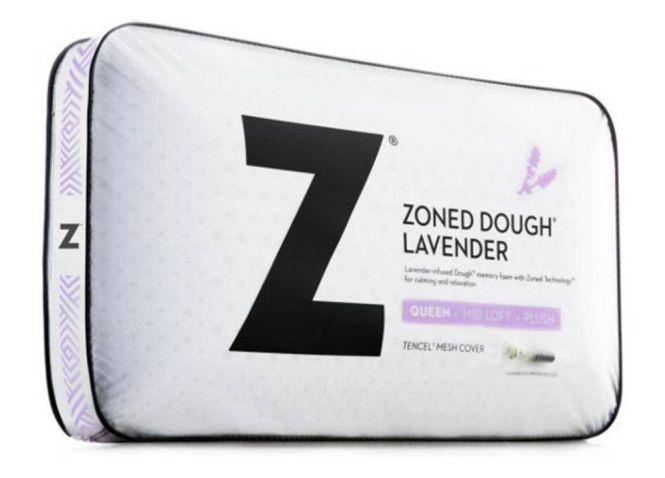 Malouf Lavender Memory Foam Pillow (Zoned Dough)