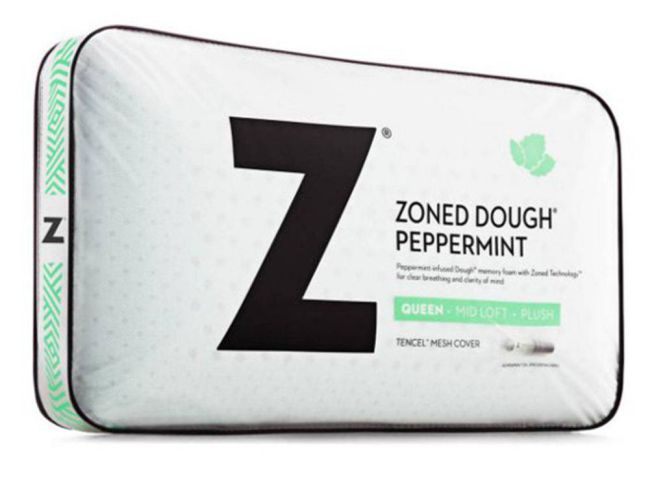Malouf Peppermint Memory Foam Pillow (Zoned Dough)