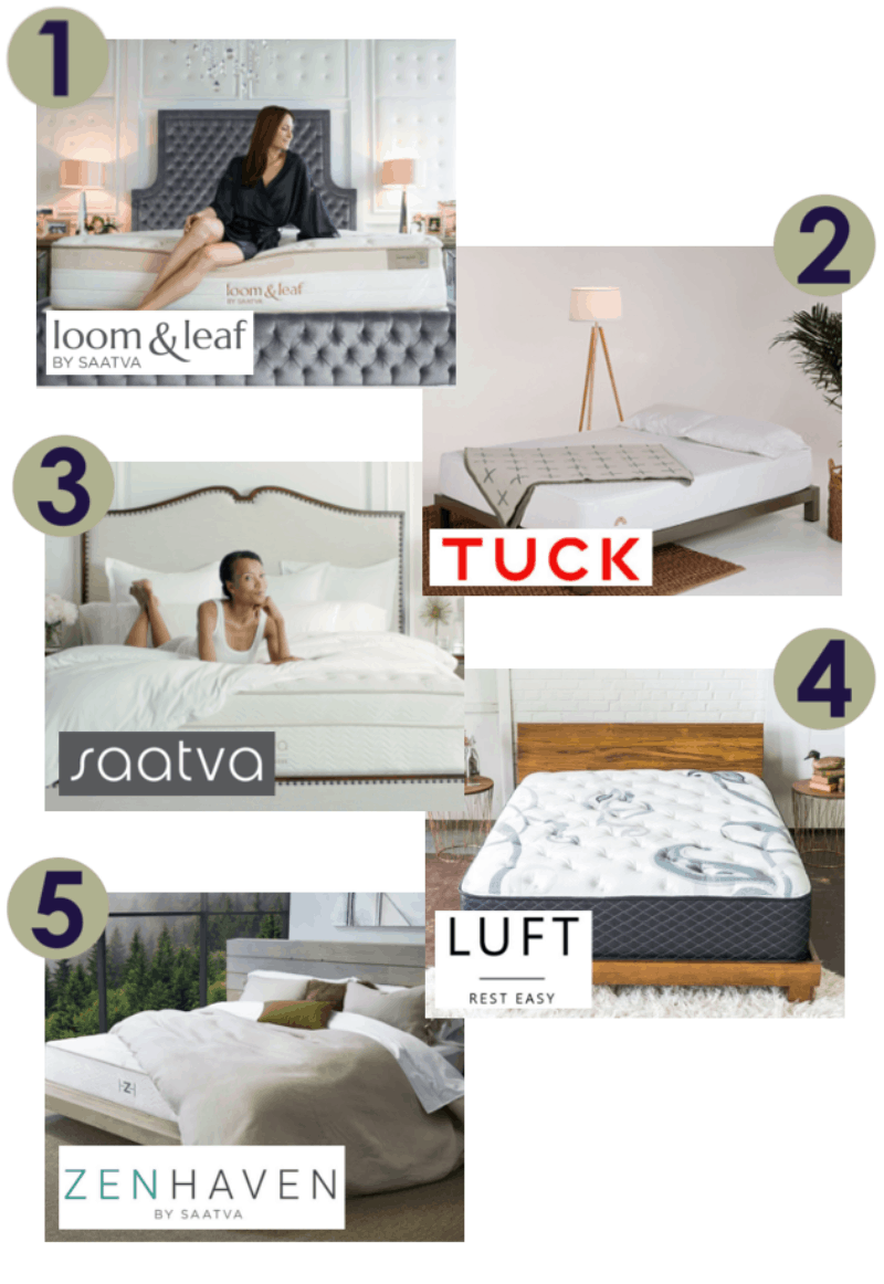 The Year May Not Be Over Yet But For 2017 We Have Picked Our Top 7 Mattresses Chose Seven Beds That All Ranked At Of List Also