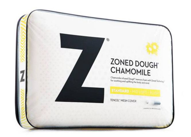 Malouf Chamomile Memory Foam Pillow (Zoned Dough)
