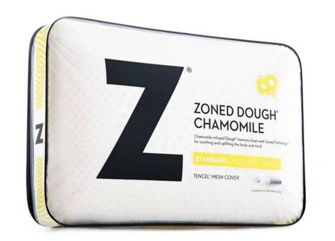 Malouf Chamomile Memory Foam Pillow (Zoned Dough)