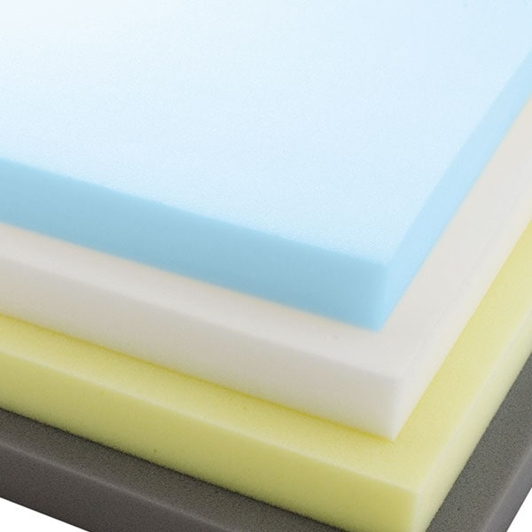 layers of mattress foam
