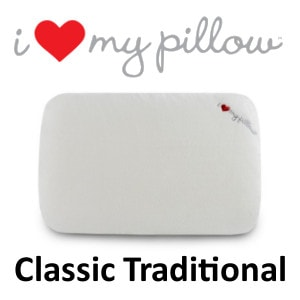 I Love My Pillow Classic Traditional Pillow