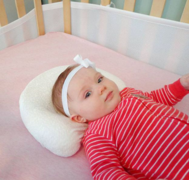 baby love head shaping pillow