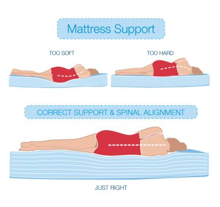 6 Best Type Mattress For Neck/back Pain
