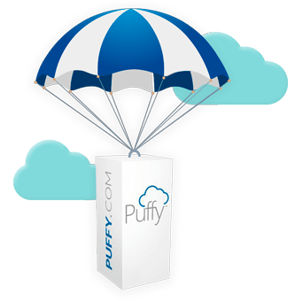 puffy mattress review in the clouds