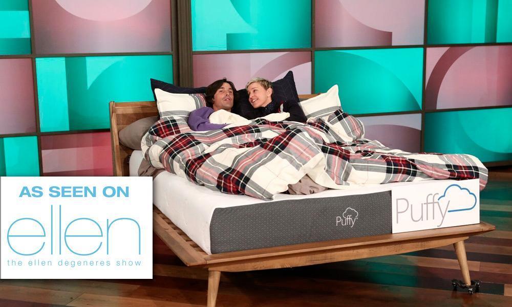 puffy mattress ellen show