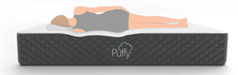 puffy mattress side sleeping cartoon