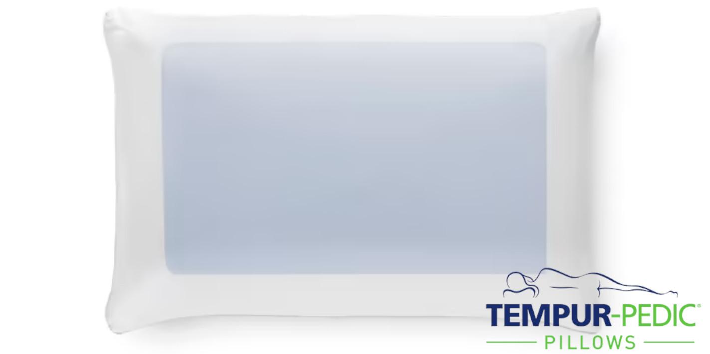 dual cooling memory foam pillow