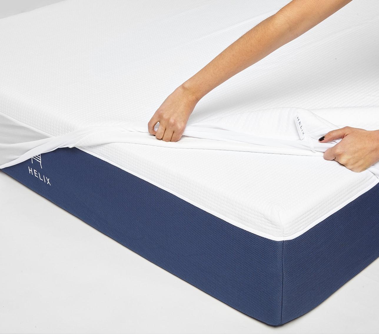 helix mattress sleeping cool
