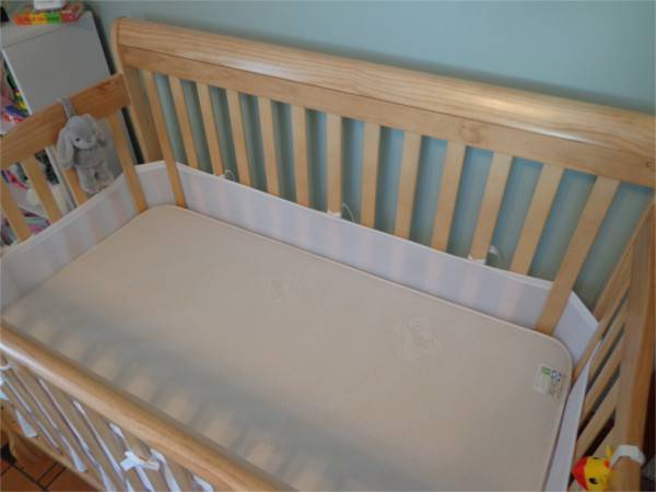 Sealy Crib Mattress: Premier Posture Dual Sided