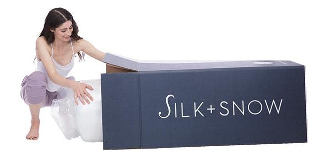 silk snow mattress