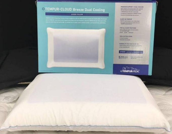 temper-cloud pillow review