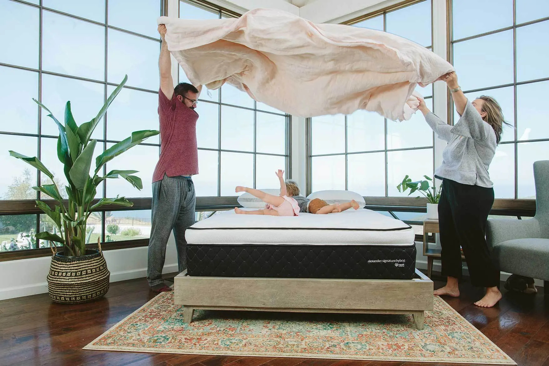 review alexander hybrid mattress