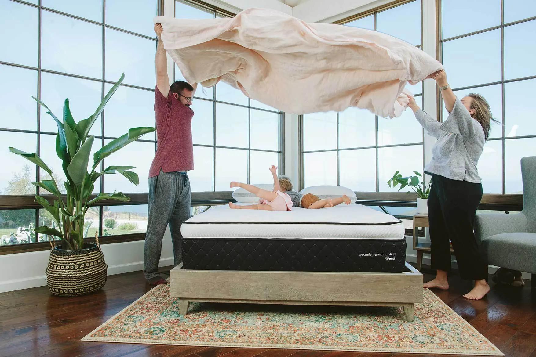 review alexander hybrid mattress