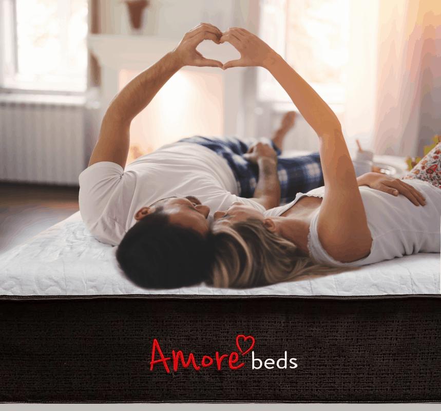 amore beds hybrid mattress