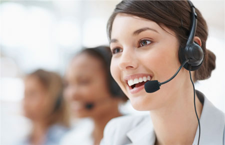 customer support woman