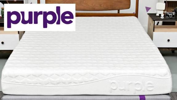 picture of a purple mattress