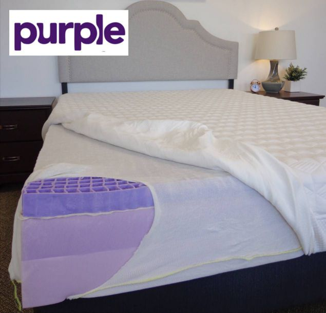 Memory foam mattress comparison loom and leaf vs for Brooklyn bedding vs purple