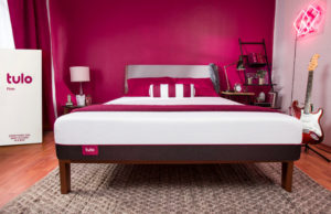 tulo mattress in staged room