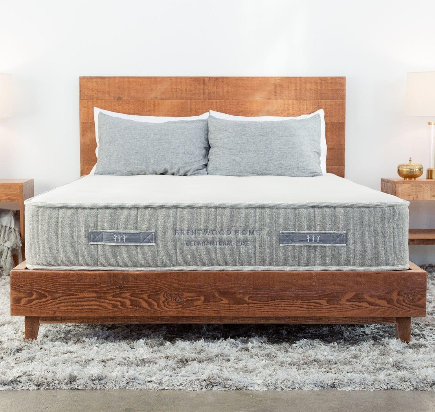 cedar mattress with no topper