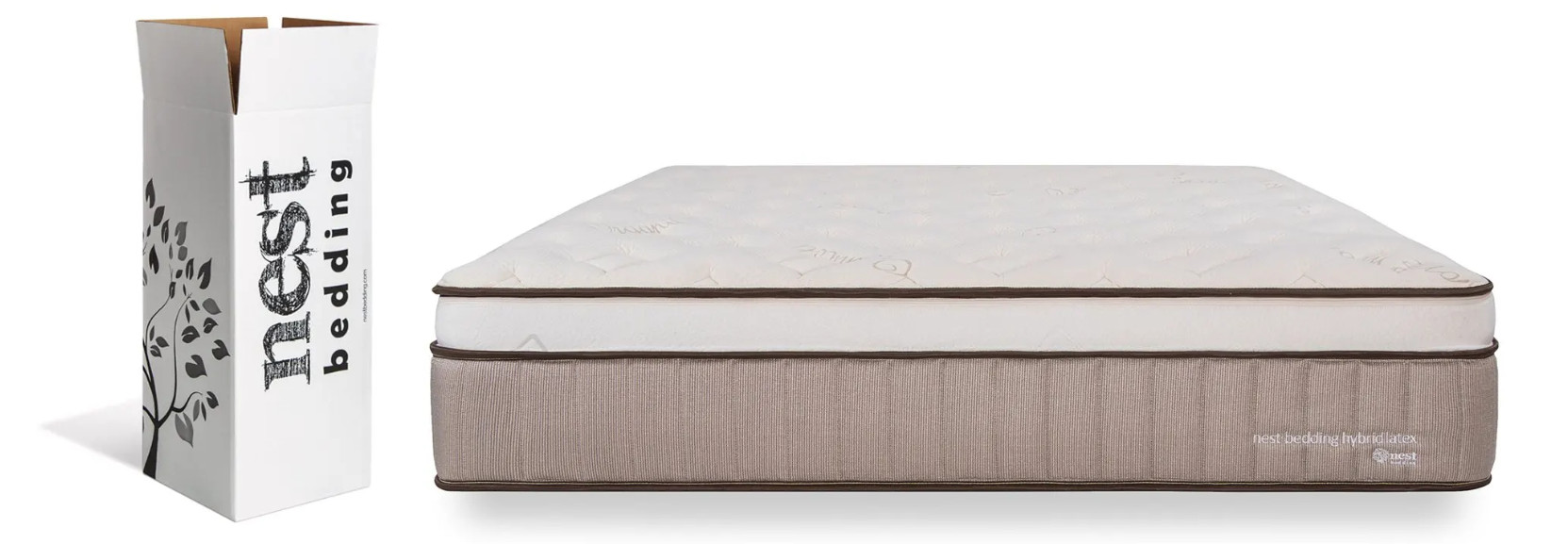 nest bedding latex hybrid mattress review