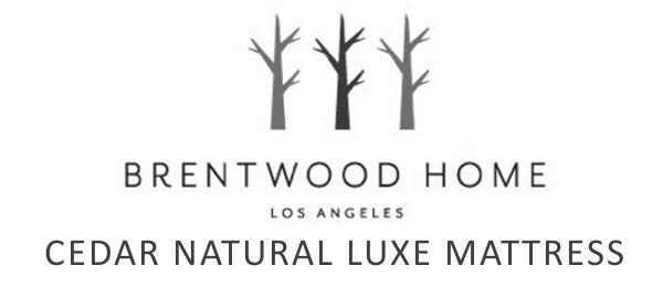 cedar natural luxe logo