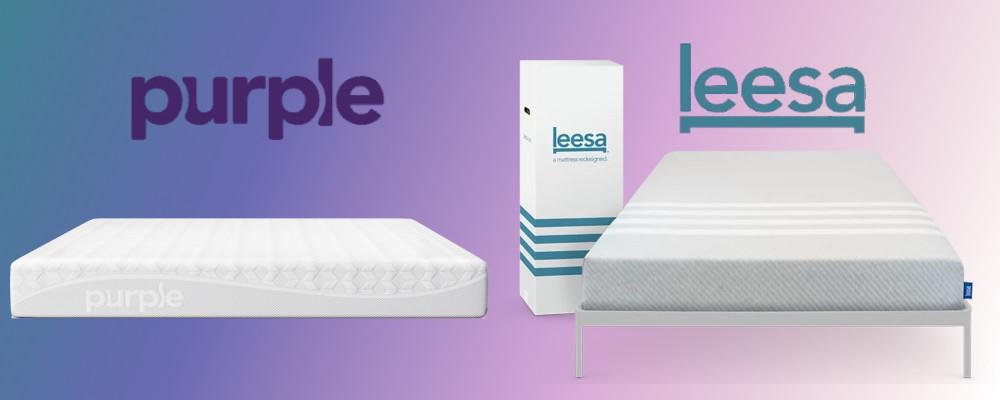 purple vs leesa mattress