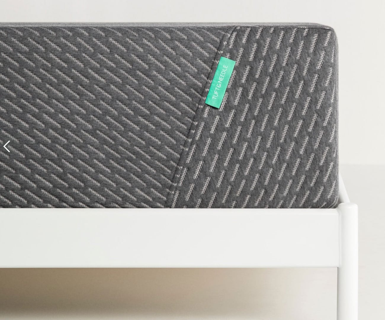 tuft and needle mint mattress with platform base