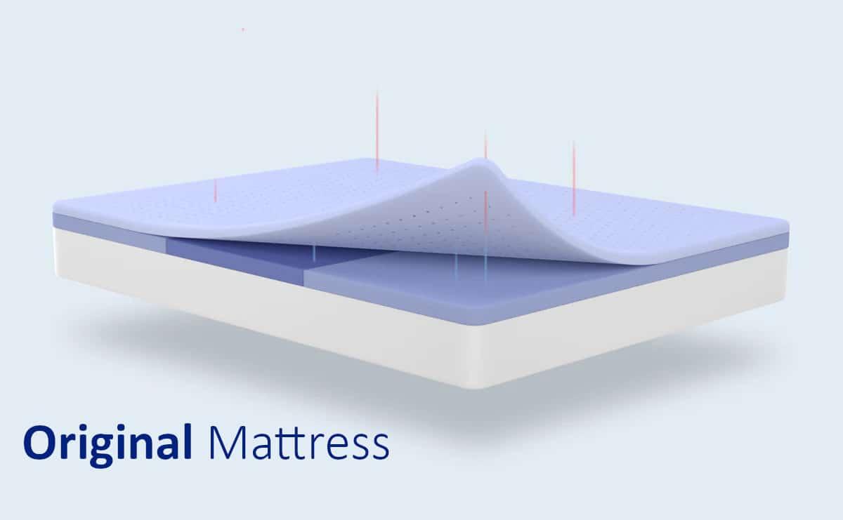 original mattress comfort all foam from casper