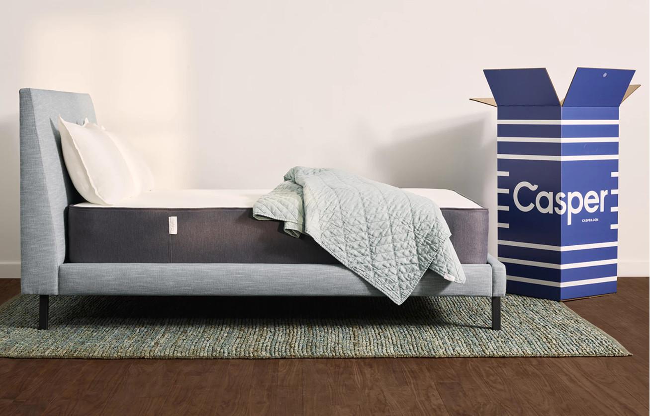 casper mattress side view